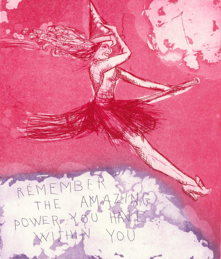 Remember the amazing power av kunstner Björg Thorhallsdottir
