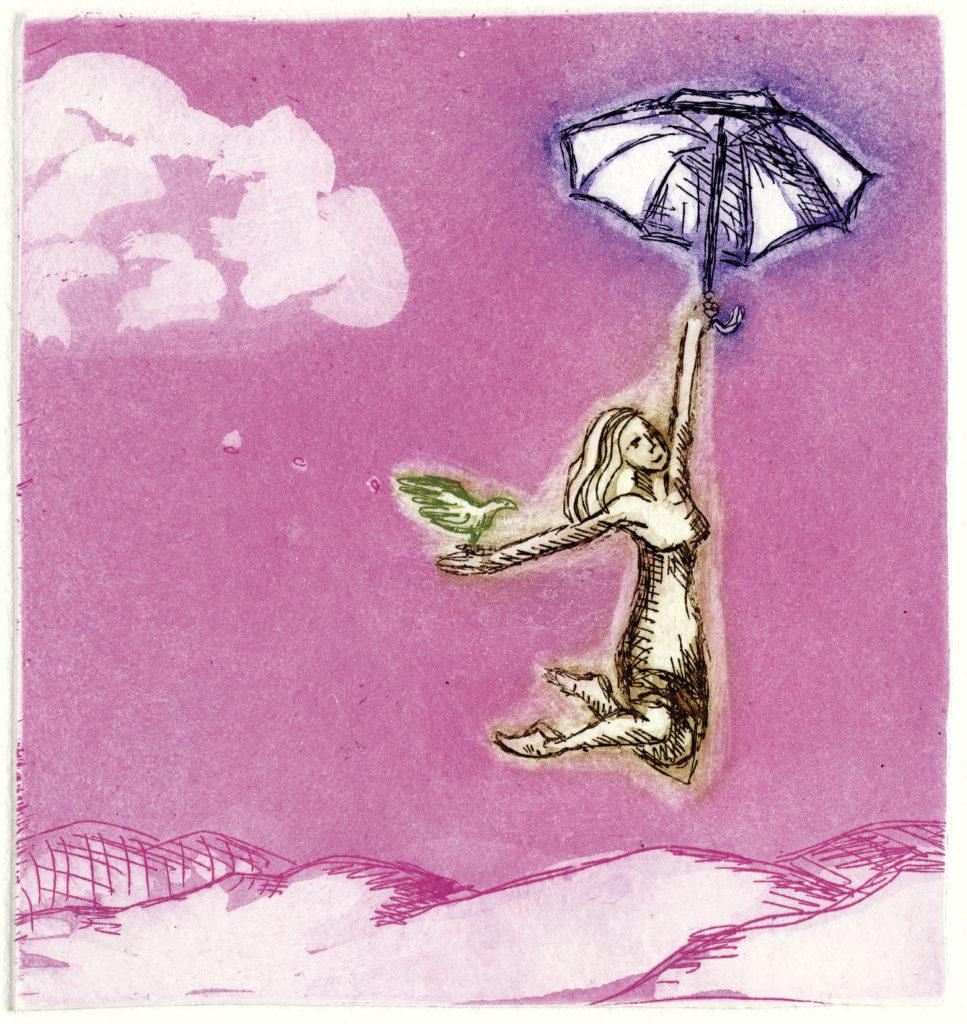 Vær din egen Mary Poppins av kunstner Björg Thorhallsdottir