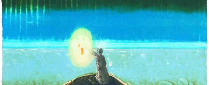 Bildet Farol er laget for å gi den samme type ro som når vi ser utover havet