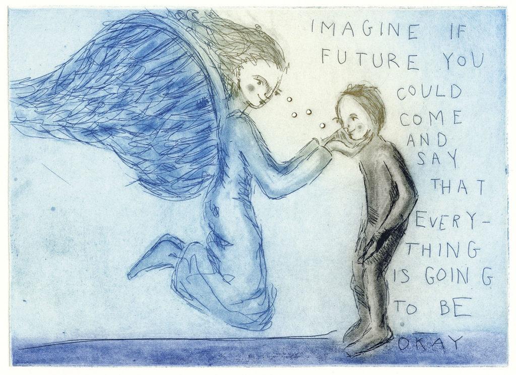 Tenk om den fremtidige deg kunne komme og si at alt blir bra